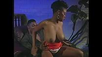 Black guy licks hairy pussy ebony babe and fuck...