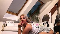 Hot Amateur Big Ass Blonde for the First Time o...