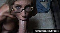 Busty Blonde Bombshell, Puma Swede, face fucks ...