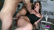 Small amateur Chica Stepdaughter eager to d. la...