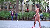 Curvy petite brunette Euro babe Susy Gala in re...