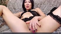Mimi Mature Asian Solo Fingering Webcam Show