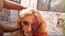 exposedlatinas.com - Latina dirty zombie gets h...