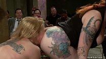 Bound big boobs blonde slave Milf Dee Williams ...
