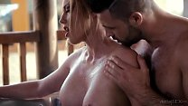 This housewife know how to respect her man! Hot...