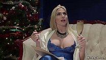 Big tits blonde rich lesbian housewife Christie...