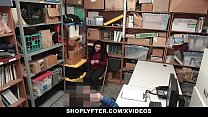 Watch ShopLyfter - Teen Gets Humiliated By LP Officer's Cock preview