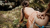 Forest Quickie with Horny Teen Public Sex
