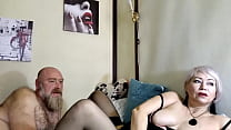 The gaping pussy of my sweet wife, my mature mi...
