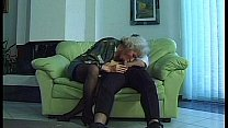 hairy granny sucking cock