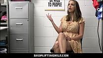 Big Ass MILF Shoplifter Sex With Guard After He...