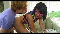 Petite tiny girl drilled Liv Aguilera 6 91