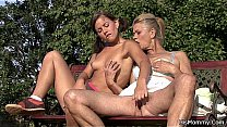 He caught old m. and teen toying