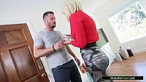 Big tits blonde milf has some dirty plans with ...
