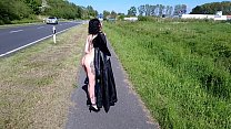 Slut Lucy Ravenblood totally naked at high prof...