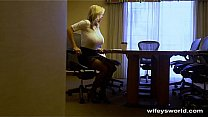 Wifey Caught In The Act - Swallows Cum Thumbnail