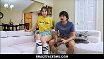 Cute Young Petite Big Tits Teen With Braces Sex...