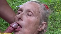 ugly mom b. fucked in nature