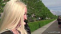 German Scout - Stranger Catch Hot Teen Angela V...