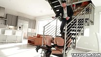 Watch Hot_mom_Audrey_Black_and_teen_Ana_Rose_wants_to_be_dominated_as_the_escort_pulls_two_dildos_in_his_briefcase preview