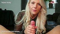Horny blonde German amateur MILF great blowjob ...