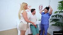 Buxom Health Care Hotties, Angelina Castro & Ka...