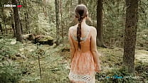 Fucking in the Forest with Instagram Model