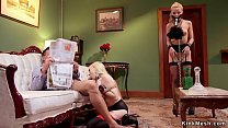 Marco Banderas gets blowjob from sexy blonde sl...