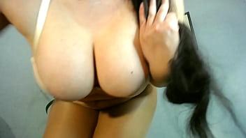strip dance   footfetish   pantyhose  from beutifull brunette