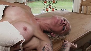Hot blonde German mom fucking her insurance agent to pay the bill