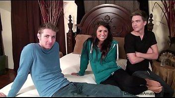 Casting Evi Fox threesome mmf