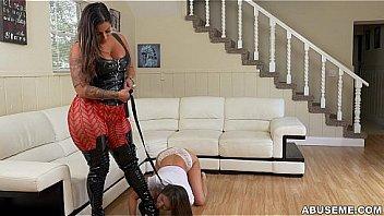 Girl on Girl slave domination