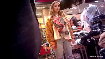 Shopping with a GIANT ERECTION (Swollen TV 3) POV Pin-hole Camera
