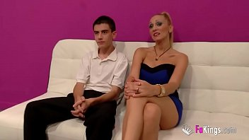 Jordi has a squirting fuck with an older blonde milf