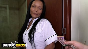 BANGBROS - MILF Housekeeper With Incredible Big Ass Going The Extra Mile