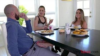 Teen Blonde Daughter Fucks Dad