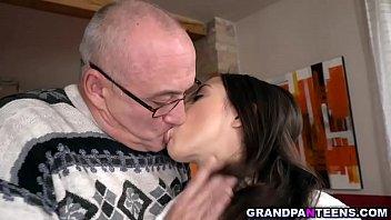 Flirty babe Anastasia Brokelyn wants a mature dick