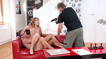 VIP SEX VAULT - #Kira Queen - Sexy Big Tits Cougar Bangs With Daddy On The Back Seat Of His Car
