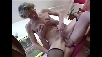 granny in glass fuck young boy