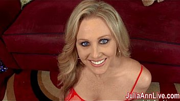 Watch Busty Milf Julia Ann is ready to celebrate Christmas with her own special naughty Santa. Julia pulls out his special sack and sucks him off to facial present! See the full video at her official site! preview
