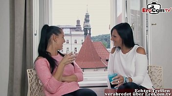 Fluechtling mit Mega Pimmel fickt schlanke Deutsche Maus tief und hart in Hamburg - German Teen