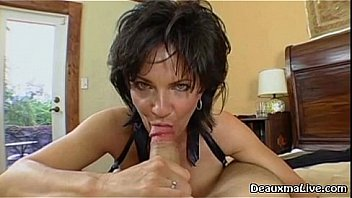 Watch Mature Milf Deauxma is ready to ride her boy toys big cock while her husband is not home! See the full video and more of Deauxma at her official site with free live shows! preview