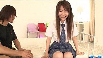 Naosima Ai schoolgirl with need for cock goes nasty