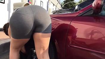 VPL thong big booty