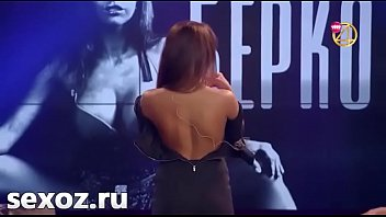 Watch Berkova strip at tv show preview