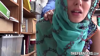 Audrey Royal Busted Stealing Wearing A Hijab & Fucked For Punishment
