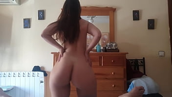 Cum on face and dance