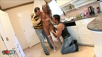 Watch Today there is 2 big hard cocks to fuck all her holes ! preview