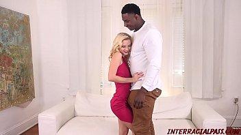 Riley star new girl interracial fuck