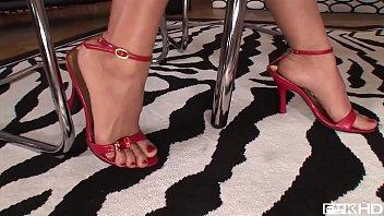 Footfuck to the extreme feat. toe sucking leg fetish Queens Jasmine Webb & C.J.